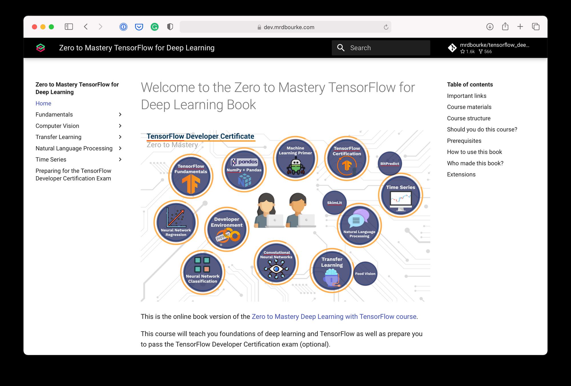 learn tensorflow for deep learning book
